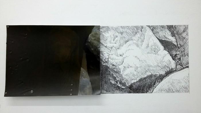 08-coraline-de-chiara-julien-verhaeghe-variation-reelle-cire-sur-tirage-numerique-et-mine-de-plomb-sur-mur-7x14cm-2016
